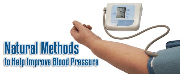 Natural Methods to Improve Blood Pressure