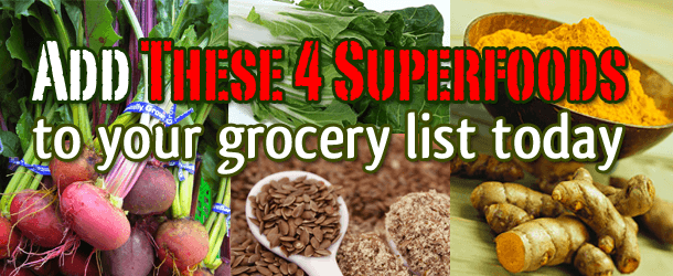 Add These 4 Superfoods to Your Grocery List Today