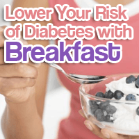 Lower Your Risk of Diabetes with Breakfast