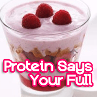 Don't Gorge Yourself: Yogurts, Lean Meat Tell Your Brain You are Full