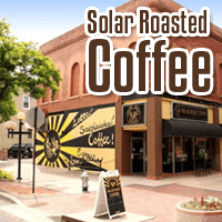 Coffee Roasted With Sun Power