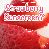 All-Natural Strawberry Infused Sunscreen on the Way?
