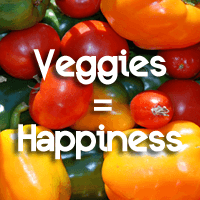 Veggie-intense Diet Makes You Happier