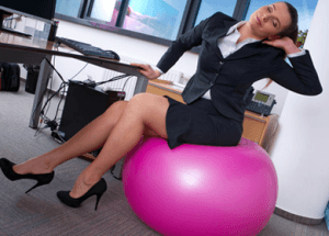 Sitting at Your Desk All Day Hazardous to Your Health: Quick Office Exercise [Video]