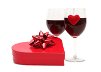 Dark Chocolate and Red Wine for a Healthy Valentine's Day
