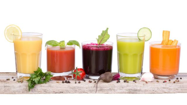 how to make vegetable juice