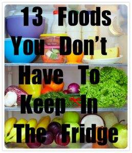 foods in the fridge