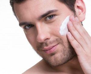 man healthy skin