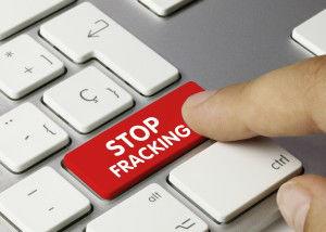 STOP Fracking. Keyboard