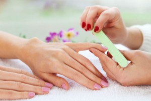 Gentle care of nails