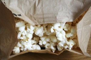 Popcorn for microwave