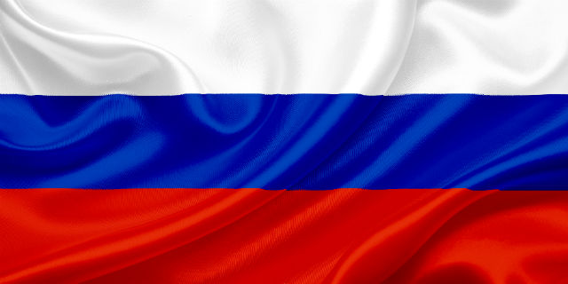 Flag of Russian