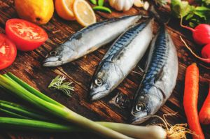 Fresh Mackerel with vegetables
