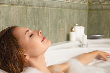 Image result for relaxing bath