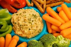 Veggies Hummus