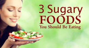 sugary food