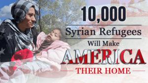 10000SyrianRefugeesMakeAmericatheirHome
