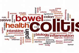 Colitis word cloud