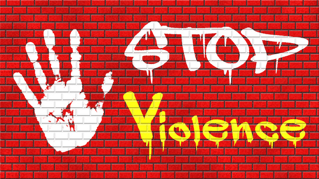 no violence or aggression
