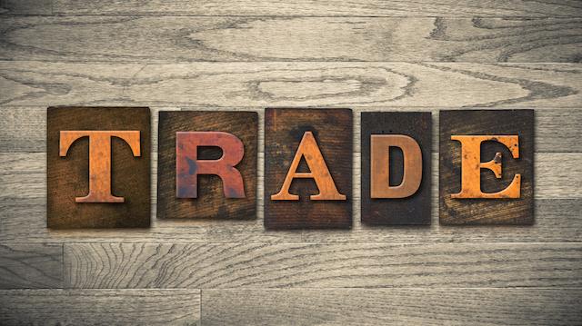 Trade Concept Wooden Letterpress Type