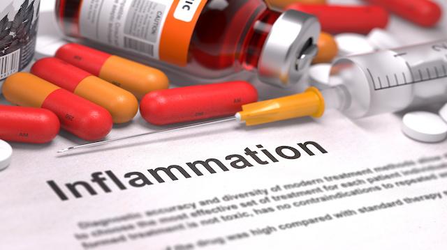 Inflammation - Medical Concept. 3D Render.