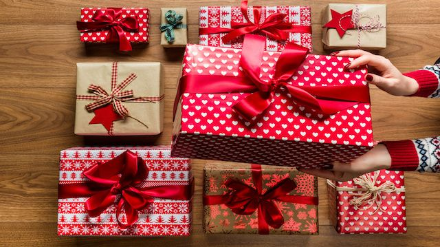 old fashioned christmas presents