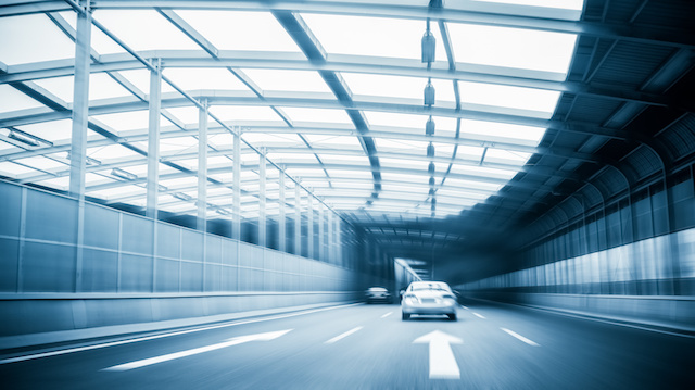 city expressway traffic