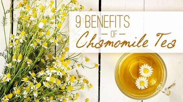 9 Benefits of Chamomile Tea