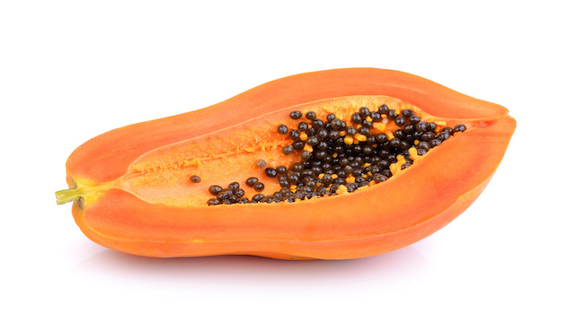 papaya slice