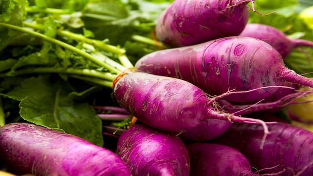 Organic Turnips