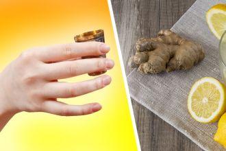 Healing benefits of a lemon and ginger shot