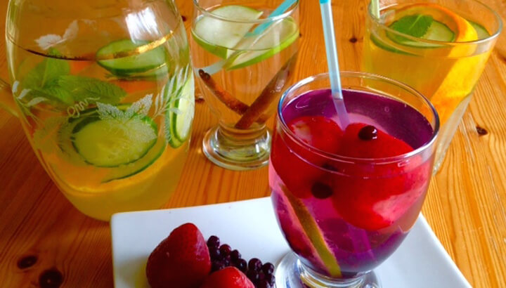 3 Fat Flushing Infused Water Recipes