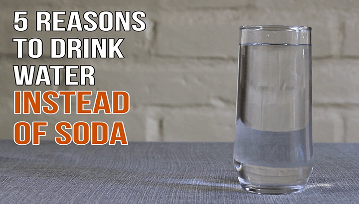 Watch 5 Reasons To Drink Water Instead Of Soda