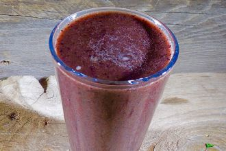 Berry Smoothie Stress Reducer Feature Photo