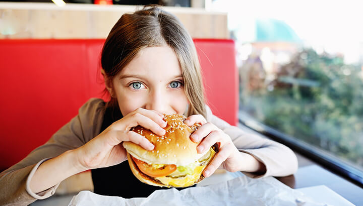 Kids Eating Junk Can Cause Apathy