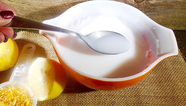 Lemon Calendua Soap 3
