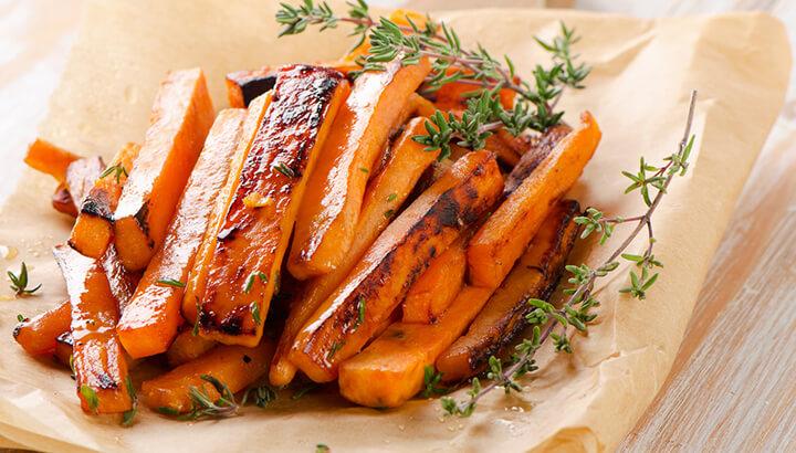 Orange Homemade Fries