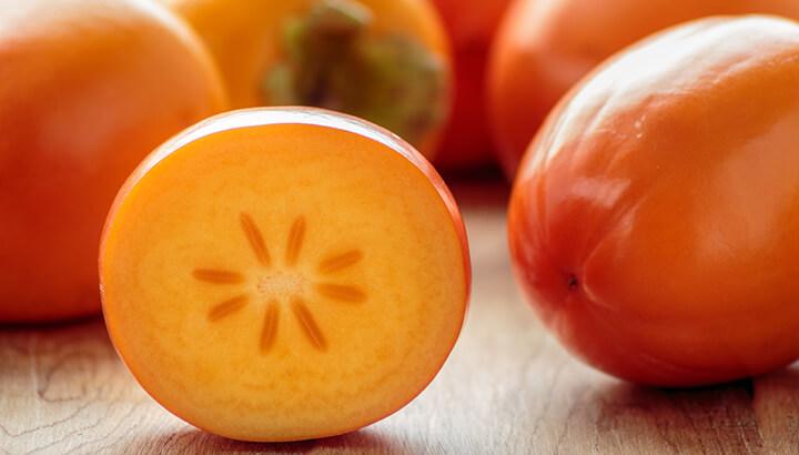 Orange Persimmons