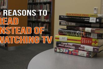 Read instead of watching television