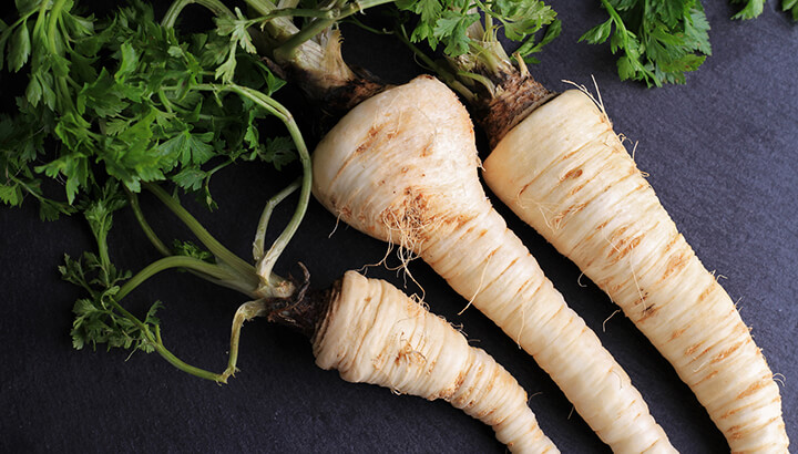 Fall Foods Parsnips