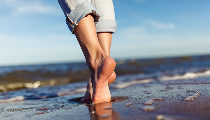 Ingrown toenail remedies go barefoot