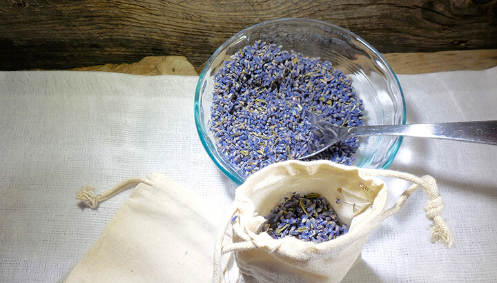Simple Lavender Dryer Sachets Photo 3
