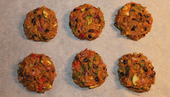 Sweet potato burger patties to reduce cancer risk