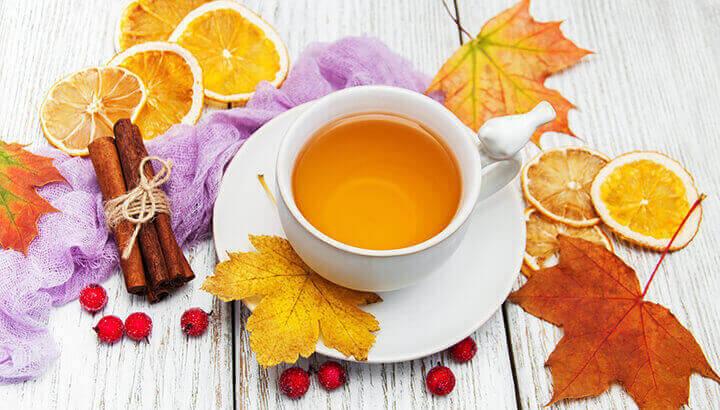 Thanksgiving cinnamon tea