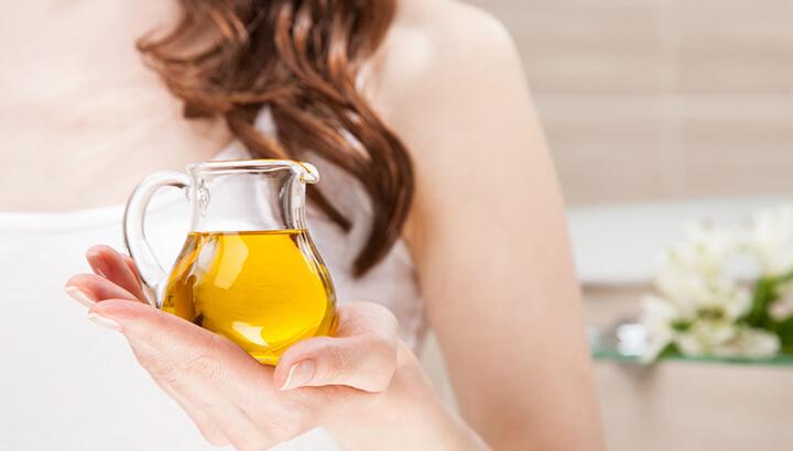 strange uses for olive oil hair