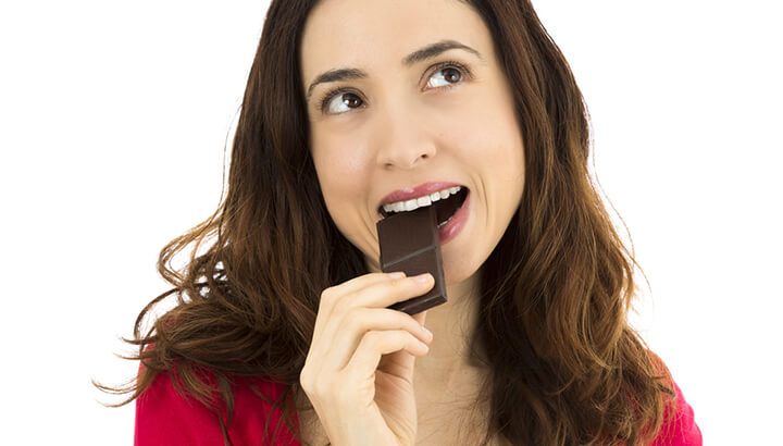 Chocolate health benefits for stress relief