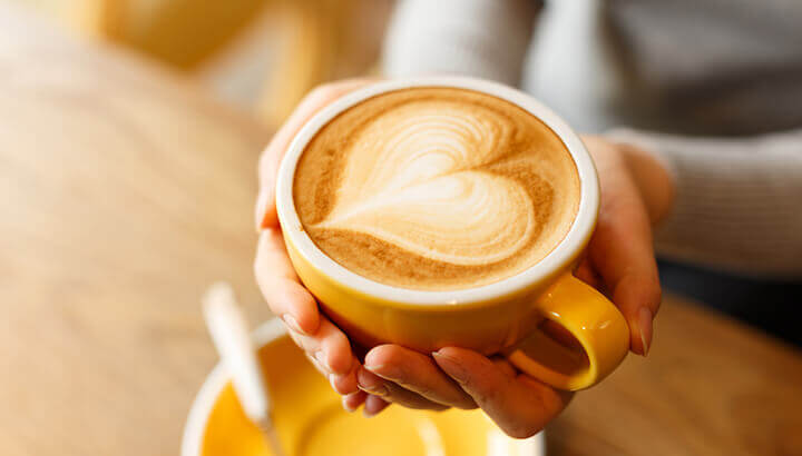 Coffee stimulates the colon to help you poop