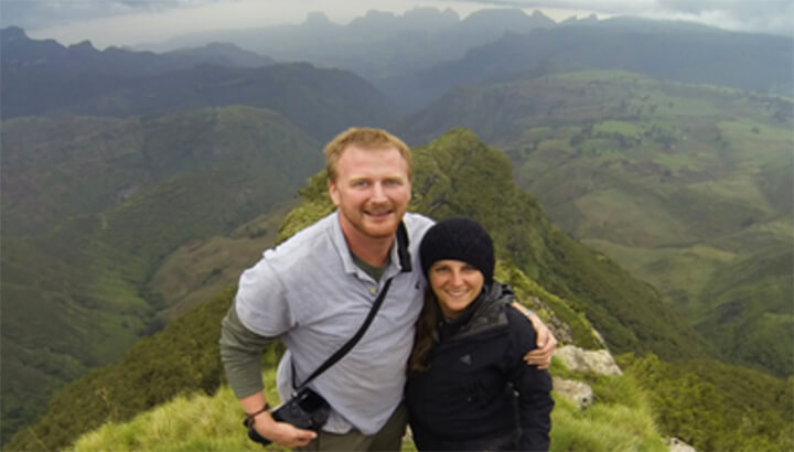 Couple has adventure in Africa for charity 3