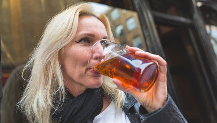 Excessive alcohol consumption on the rise for women