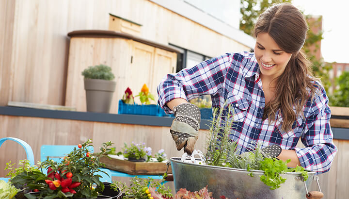 Fix anxiety naturally by gardening